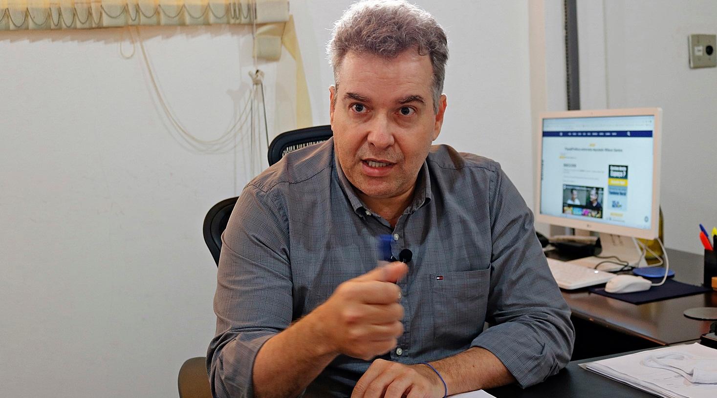 Imagem: JUliano Jorge Presidente da Metamat critica Fabio Garcia e sugere troca no DEM