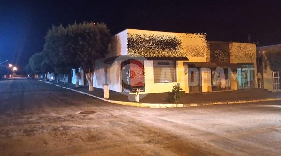 Imagem: Local onde aconteceu o crime Suspeito que desferiu 10 facadas contra a ex-mulher é preso