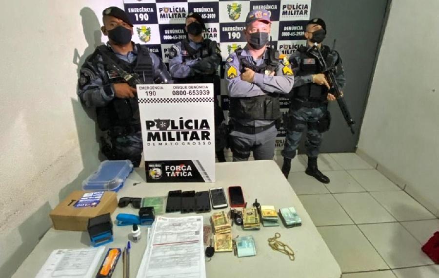 Imagem: Operacao PM PM desmonta organização criminosa e prende cinco em operação