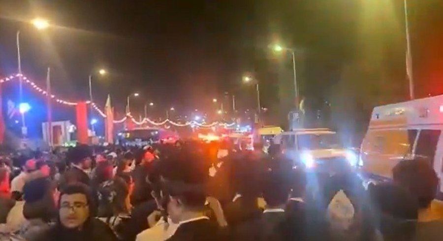 Imagem: Pessoas morrem em festival religioso Cerca de 38 pessoas morrem em Israel esmagadas em festival religioso