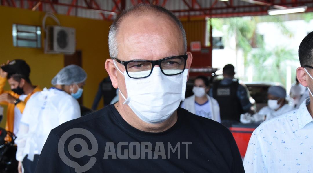 Imagem: Prefeito Jose Carlos Município vai bancar abertura de mais 10 leitos de UTIs, diz José Carlos do Pátio