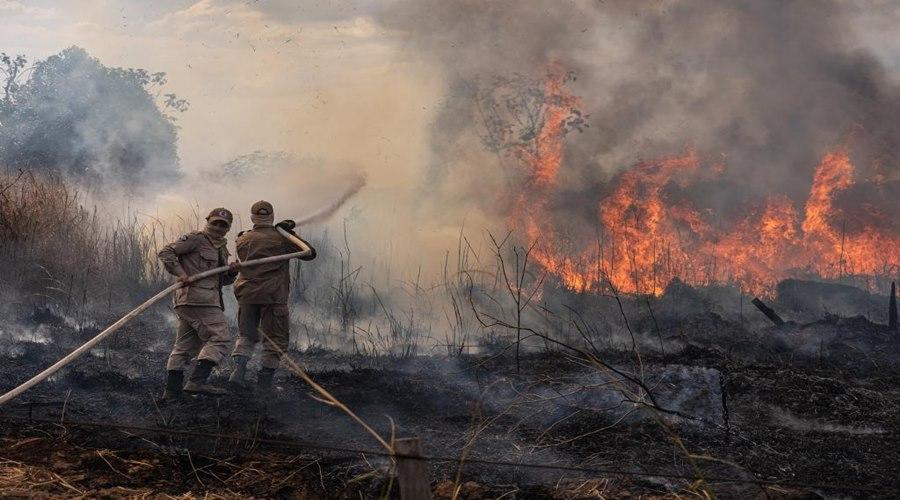 Imagem: Queimada Estado investe mais de R$ 43 milhões na prevenção e combate aos incêndios florestais