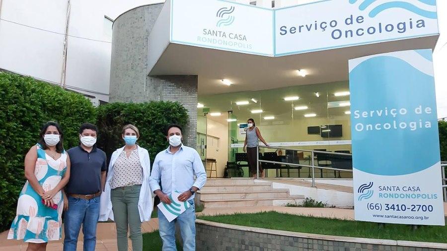 Imagem: Recursos para a Santa Casa Deputado articula a destinação de recursos para Santa Casa de Rondonópolis