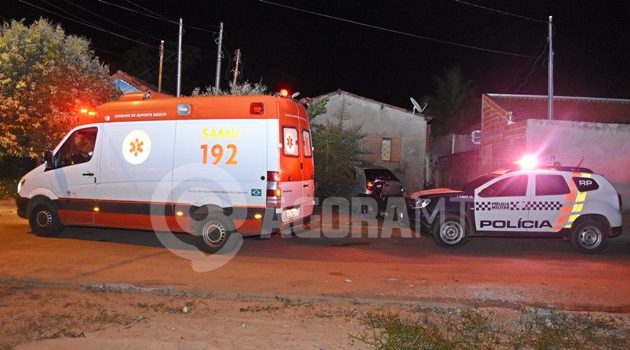 Imagem: Residencia onde aconteceu o feminicidio Mulher é assassinada com diversos golpes de faca em Rondonópolis