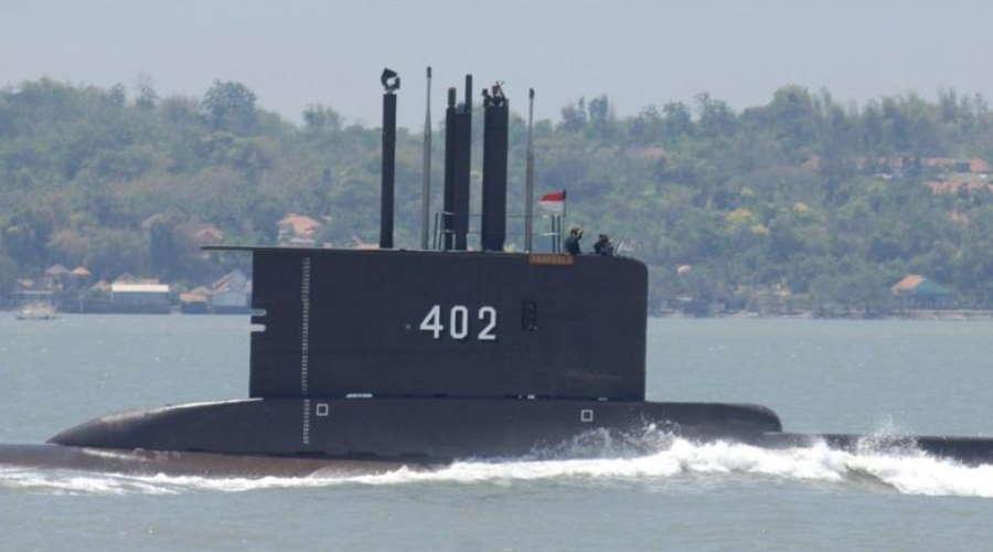Imagem: Submarino Indonesia Indonésia corre contra o tempo para achar submarino com 53 tripulantes