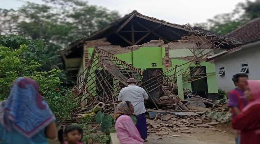 Imagem: Terremoto na Indonesia Terremoto causa mortes e danos na Indonésia