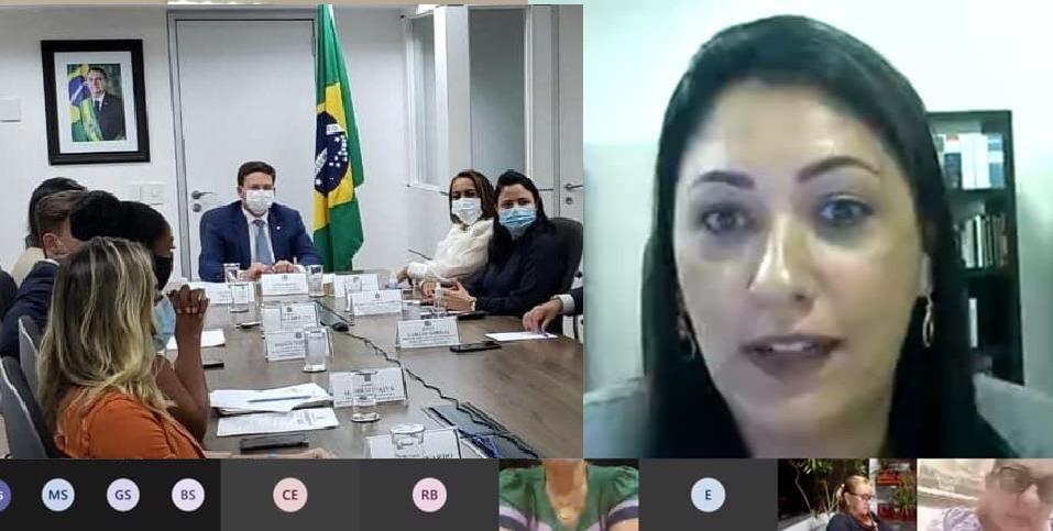 Imagem: WhatsApp Image 2021 04 15 at 10.12.56 Vice-prefeita de Alto Garças apresenta demandas ao ministro da Cidadania