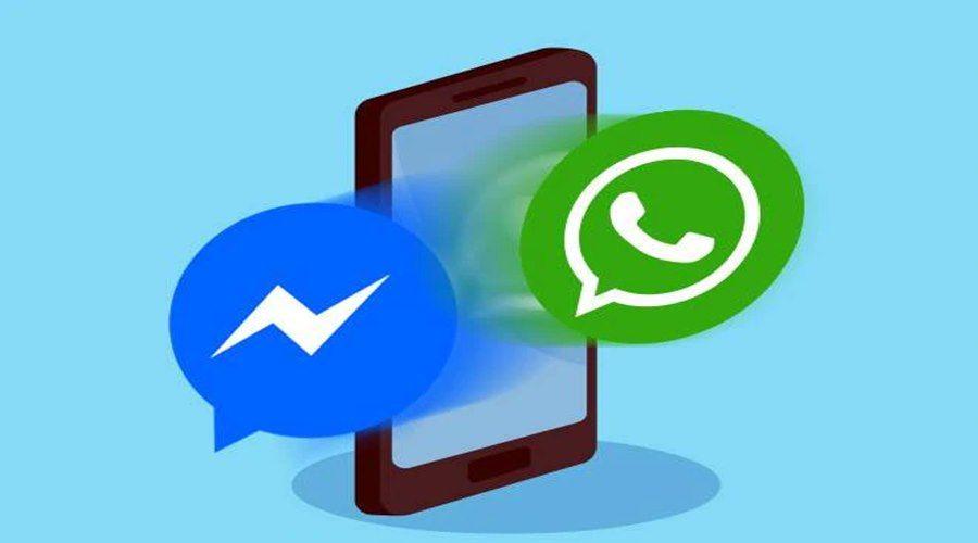 Imagem: Whatsapp menssenger Integração entre WhatsApp e Messenger deve estar disponível em breve
