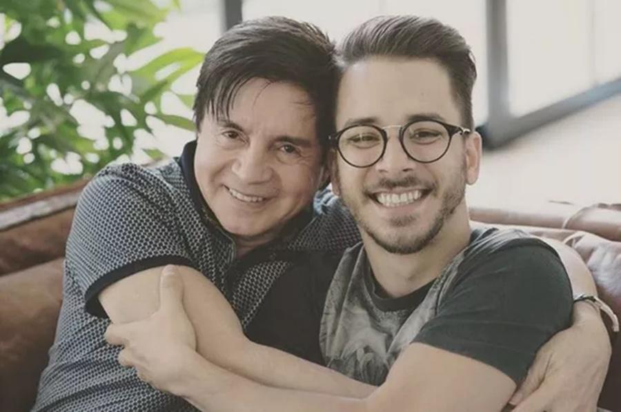 Imagem: Xororo e Junior Xororó comemora anúncio que será avô novamente