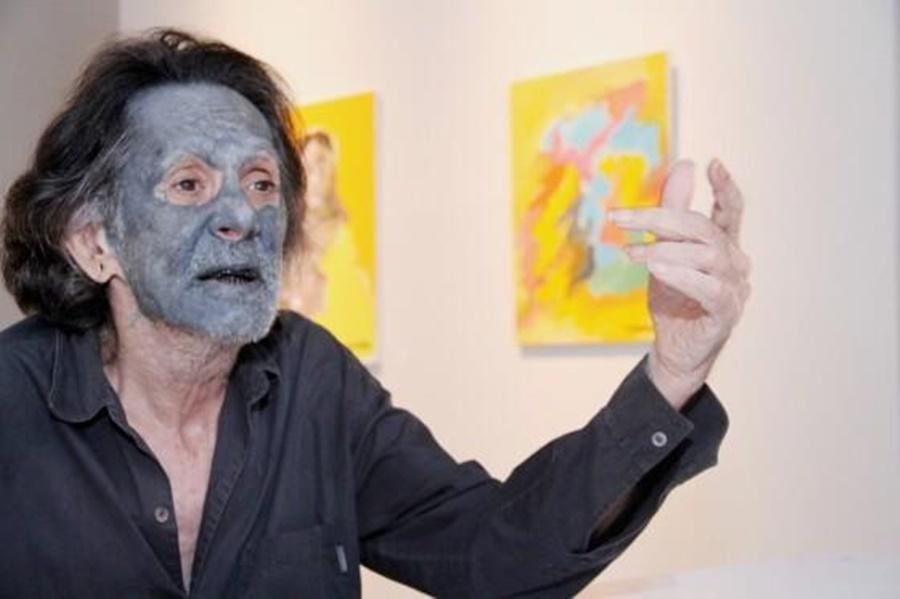 Imagem: artista plastico mato grossense Clovis Irigaray Governo lamenta morte do artista mato-grossense Clóvis Irigaray