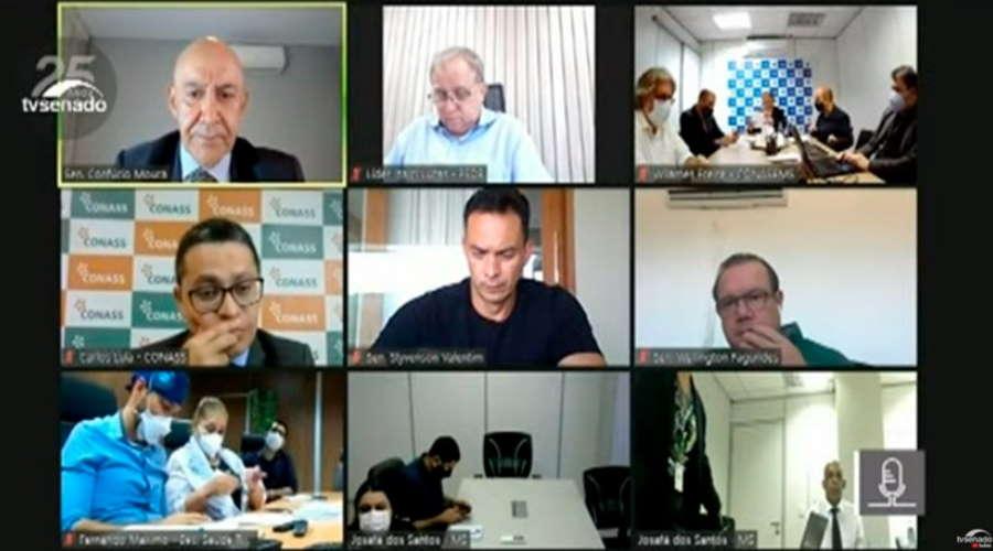 Imagem: audi covid secmunicipais Municípios temem falta de recursos para tratar pacientes com Covid-19