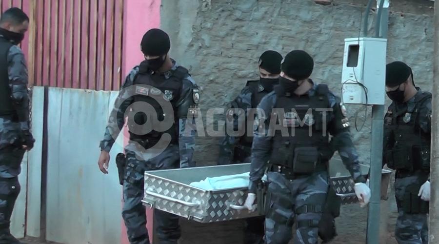 Imagem: barra Dupla morre durante troca de tiros com a Força Tática