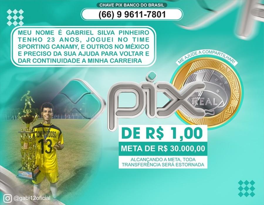 Imagem: campanha Amigos fazem campanha para jovem jogador fazer parte de time no México