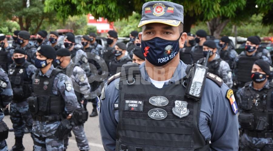 Imagem: candido 'Operação Comando Móvel' é lançada na Vila Operária