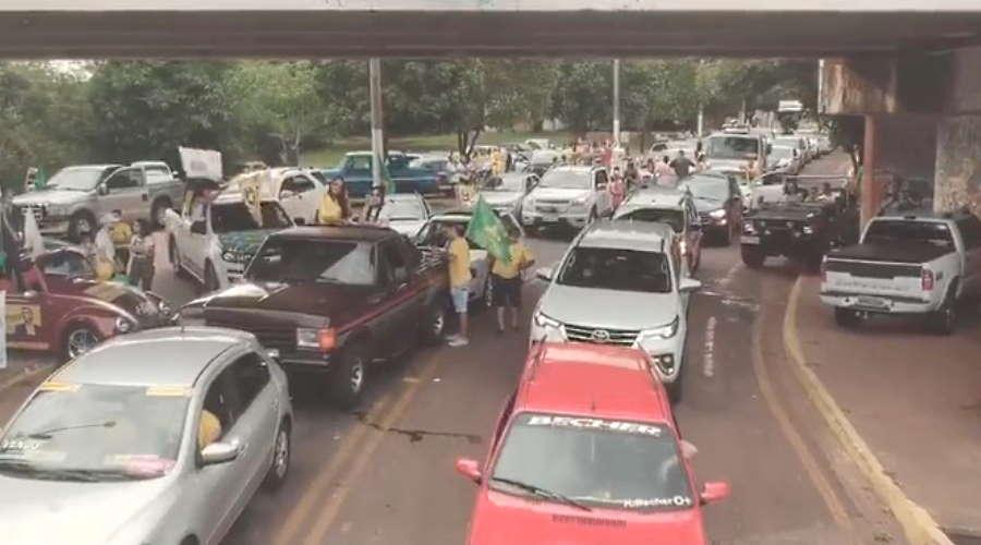 Imagem: carreata bolsonaro Bolsonaristas vão realizar carreata em Rondonópolis neste sábado