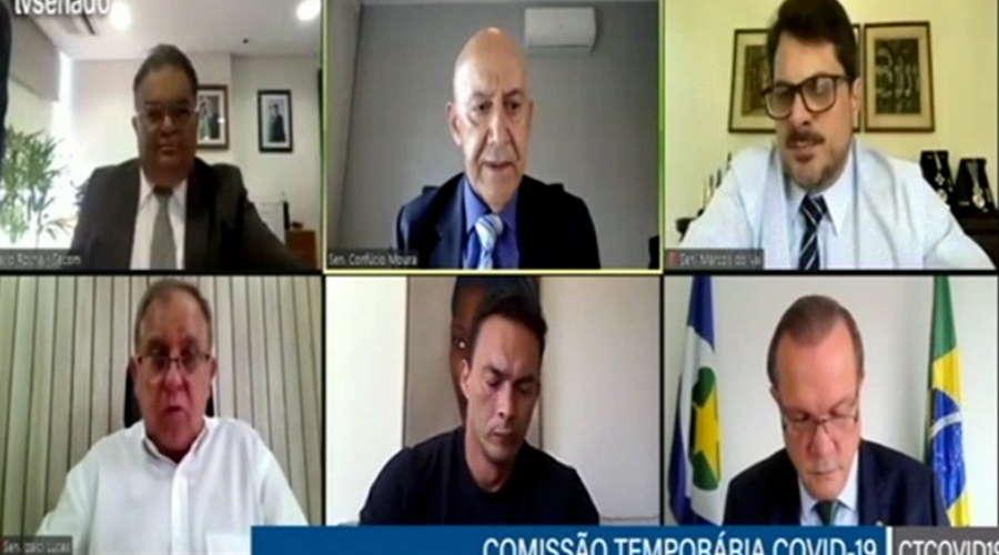 Imagem: comisao covid senado Secretário de Comunicação promete campanha publicitária sobre Covid-19