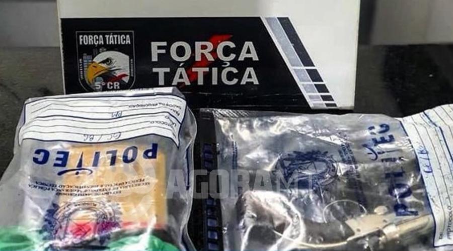 Imagem: droga barra Dupla morre durante troca de tiros com a Força Tática