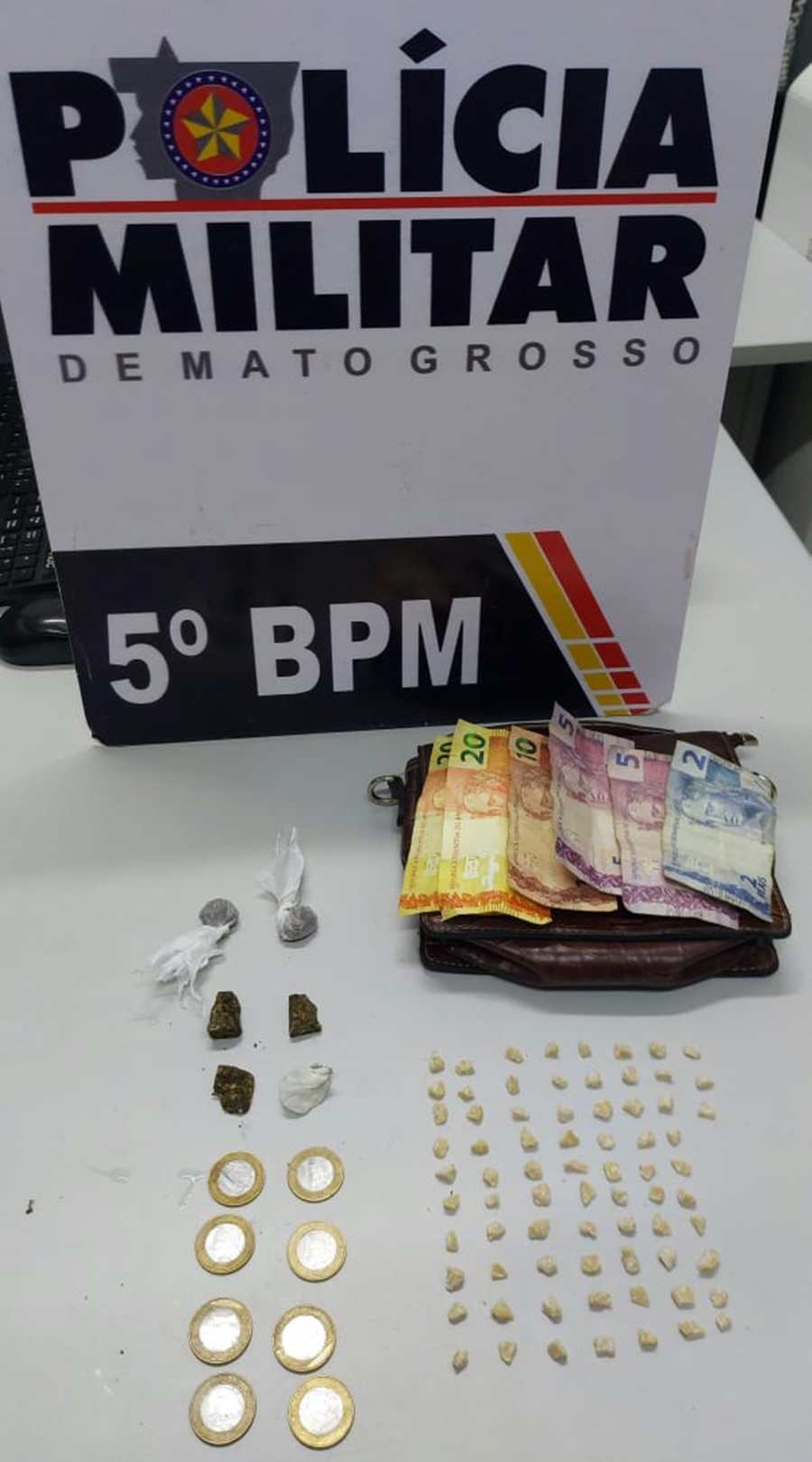 Imagem: droga jd paulista Adolescente com extensa ficha criminal é apreendida com drogas