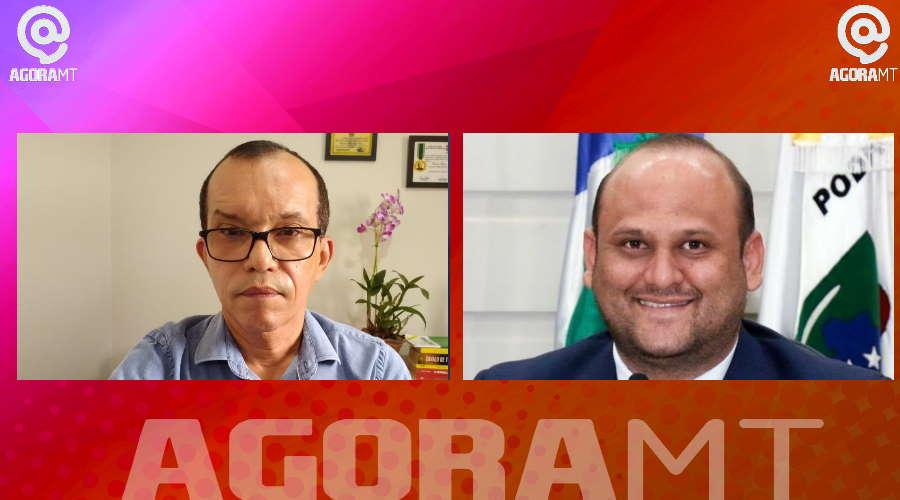 Imagem: edu roni AGORA MT estreia programa de lives com entrevista sobre Covid-19 e impostos