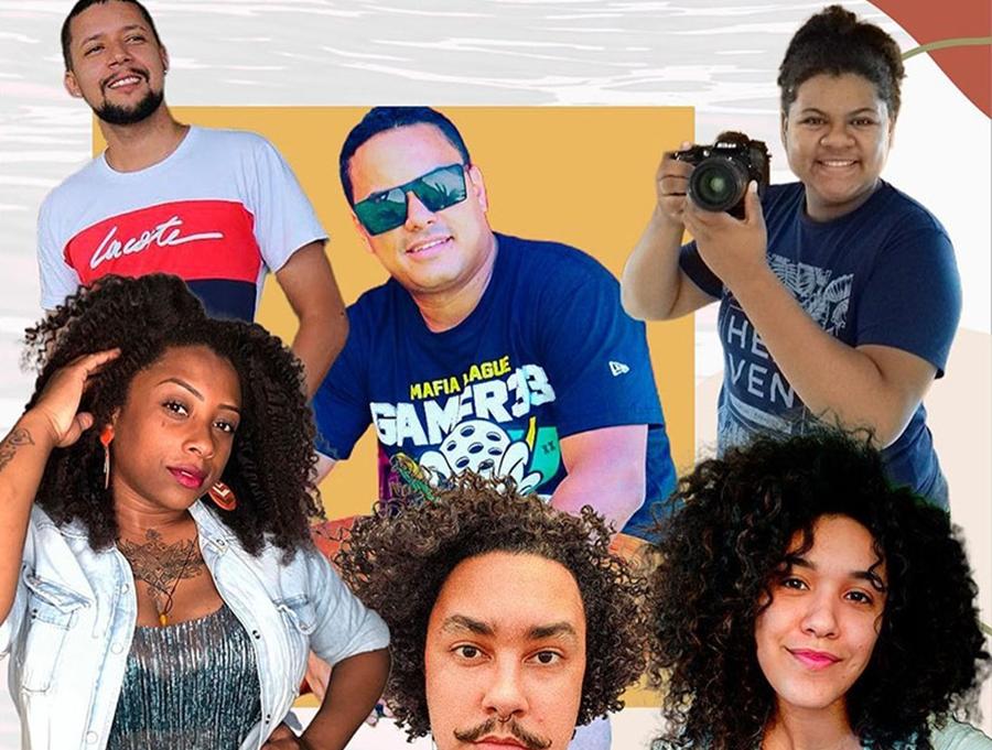 Imagem: elenco gestacao de cam 30 03 21 Espetáculo 'Gestação de Cam' estreia nesta quarta-feira em formato online