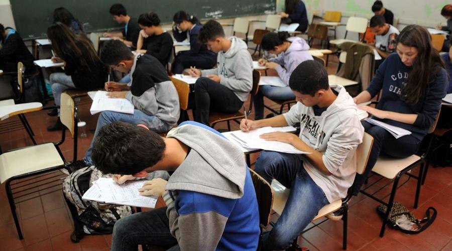 Imagem: estudantes simulado do enem brasilia 0707161048 Começam hoje inscrições para o Sisu