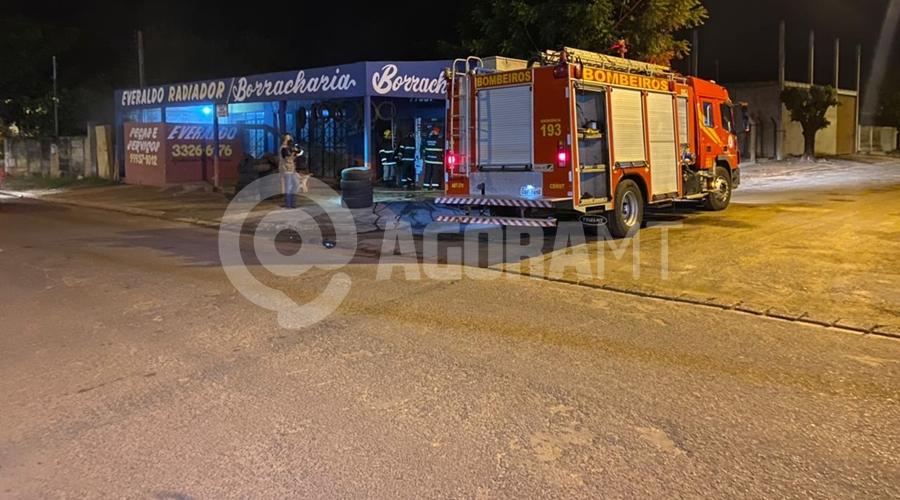 Imagem: f221421b cf2b 403f 8e3a c423a625d74b Bombeiros combatem dois princípios de incêndio em Tangará da Serra