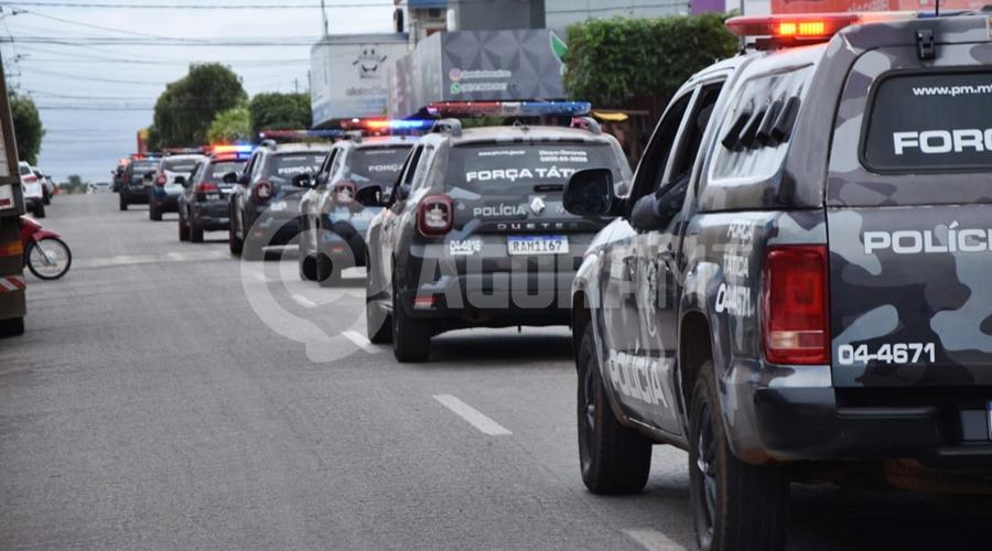 Imagem: forca tatica 'Operação Comando Móvel' é lançada na Vila Operária
