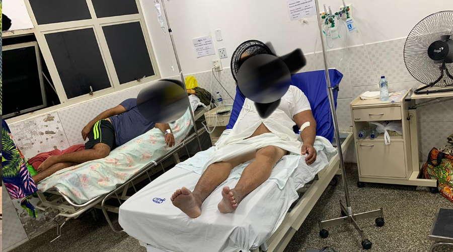 Imagem: hr internados Pacientes relatam sofrimento ao lado de UTIs inativas