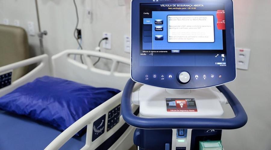 Imagem: leito primavera 2 MT registra redução de 18,1% no número de internações de pacientes