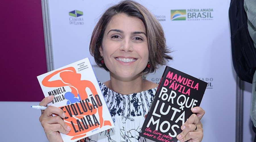 Imagem: manuela livros Ex-candidata a vice-presidente estará em evento jurídico da Unemat