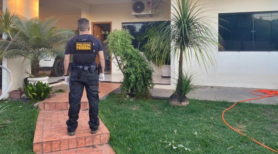 Imagem: pf3 PF cumpre mandados em Rondonópolis contra tráfico sexual