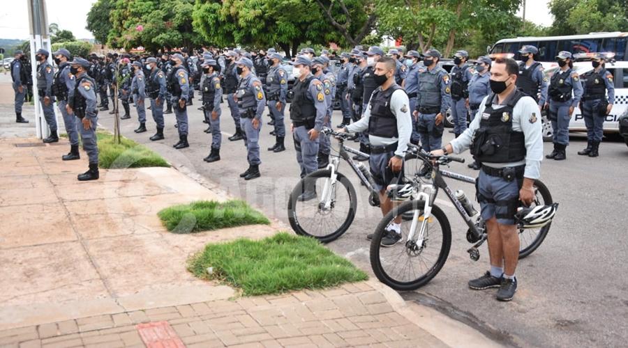 Imagem: pm 'Operação Comando Móvel' é lançada na Vila Operária