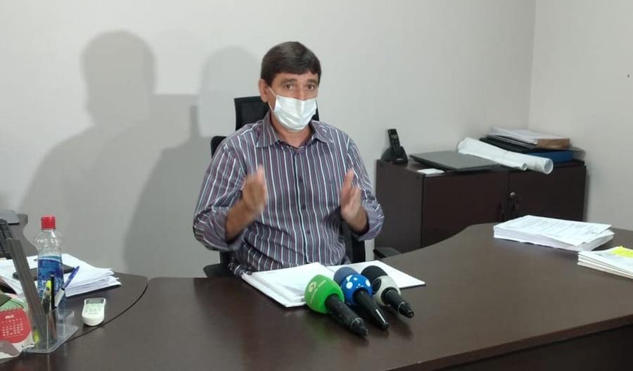 Imagem: prefeito de Tangara Tangará da Serra recebe equipamentos e instala mais 7 leitos de UTI