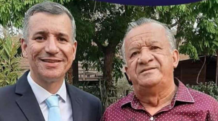 """Imagem: reginado manoel """"Meu pai descansou', diz vereador Reginaldo Santos sobre morte do pioneiro Manoel"""