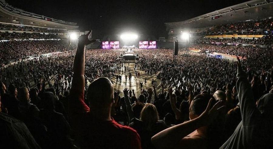 Imagem: show Nova Zelandia Nova Zelândia realiza 1º show com público e sem uso de máscaras