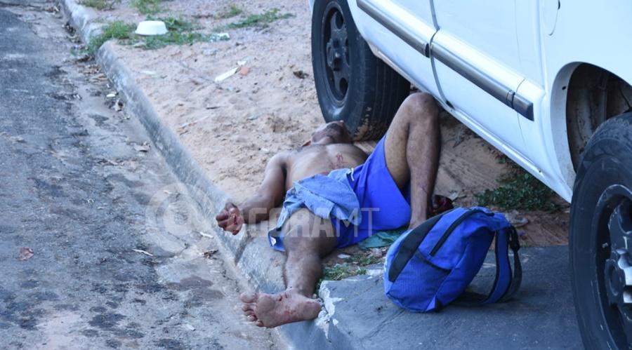 Imagem: tentativa de homicidio Homem é esfaqueado em quitinete após desentendimento