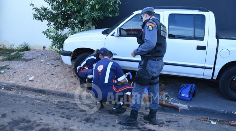 Imagem: tentativa homicidio2 Homem é esfaqueado em quitinete após desentendimento