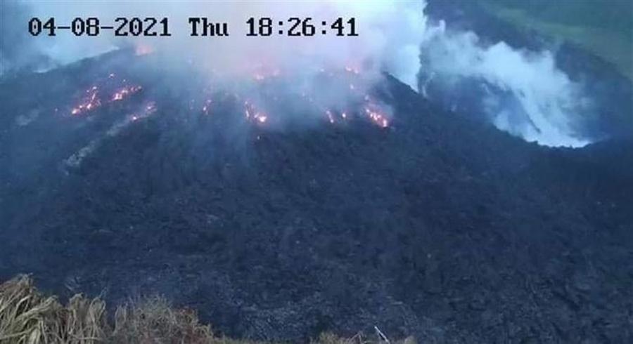 Imagem: vulcao Vulcão em risco de erupção tira quase 16 mil de casas