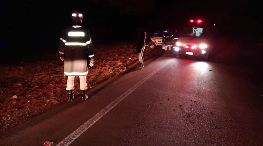 Imagem: 8e277975 b1a4 4a6e 97a2 172eae7a39d5 Duas pessoas morrem e uma fica ferida em acidente na MT-344