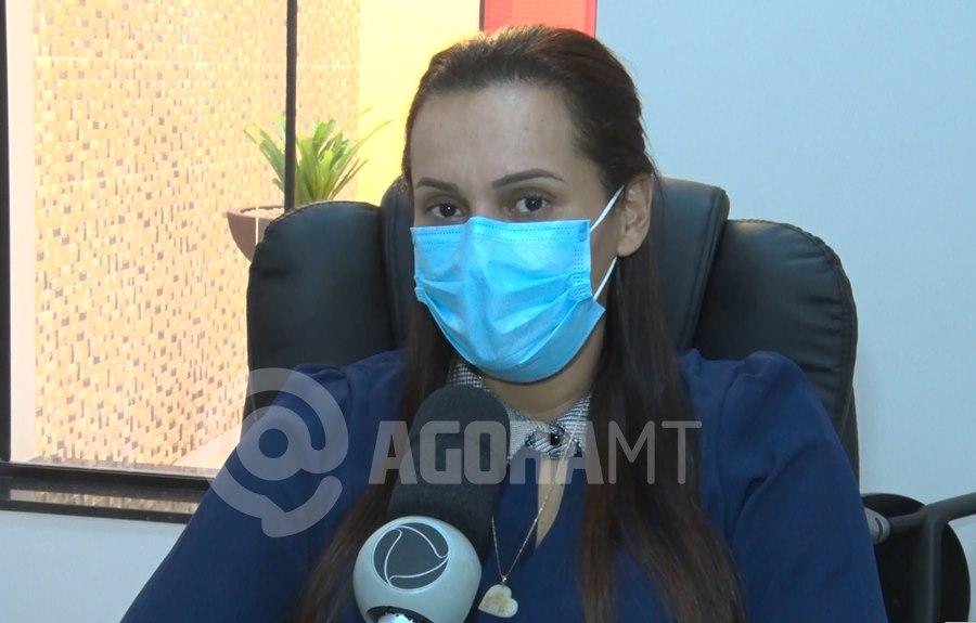 Imagem: A presidente do Sispmur Geane Lina Teles Sispmur é a favor da retomada do trabalho presencial dos servidores municipais