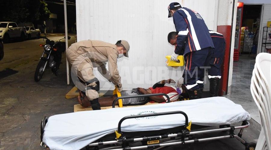 Imagem: A vitima foi encaminhada para o Hospital Regional Vítima sofre fratura na face após ser agredida durante assalto no bairro Santa Cruz