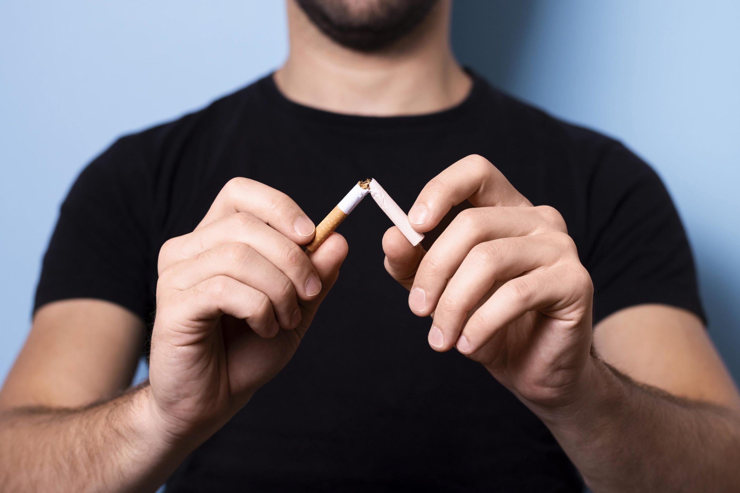 Imagem: Cigarro scaled Tabagismo aumenta riscos de contaminação e agravamento da Covid 19