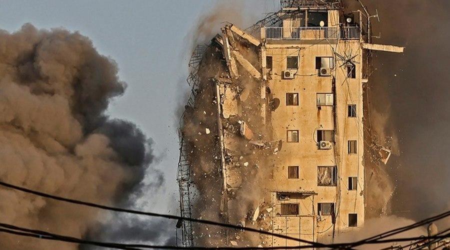 Imagem: Conflito entre palestinos e israelenses Mais de 70 pessoas morrem em confronto entre Israel e Palestina
