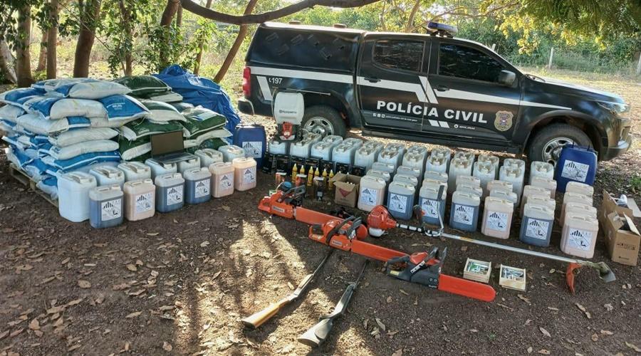 Imagem: Estelionato e Confresa Polícia Civil recupera carga proveniente de estelionato avaliada em mais de R$ 100 mil