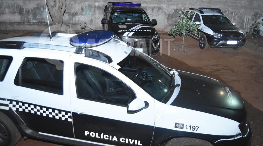 Imagem: Viatura Policia Civil Cisc Quatro integrantes de associação criminosa são presos pela Polícia Civil