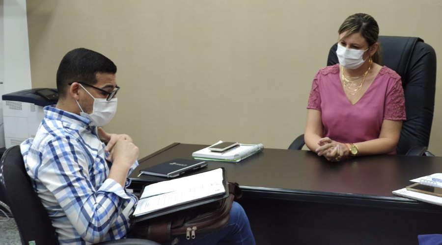 Imagem: Vinicius reuniao cba Rondonópolis receberá vacinas da Pfizer e pode dar suporte às cidades vizinhas