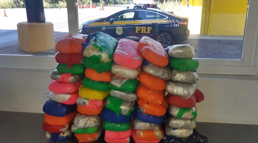 Imagem: ab96d805 22e6 493f ae85 0e6e328c7be2 Motorista é preso com 51 kg de pasta base de cocaína
