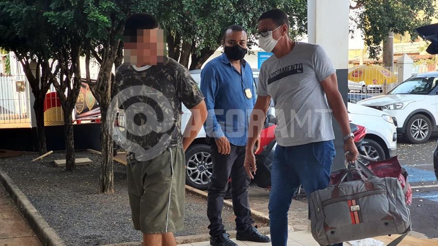 Imagem: acusado estupro delegacia tangara foto lorraine costa Acusado de estuprar filha é preso em centro de reabilitação