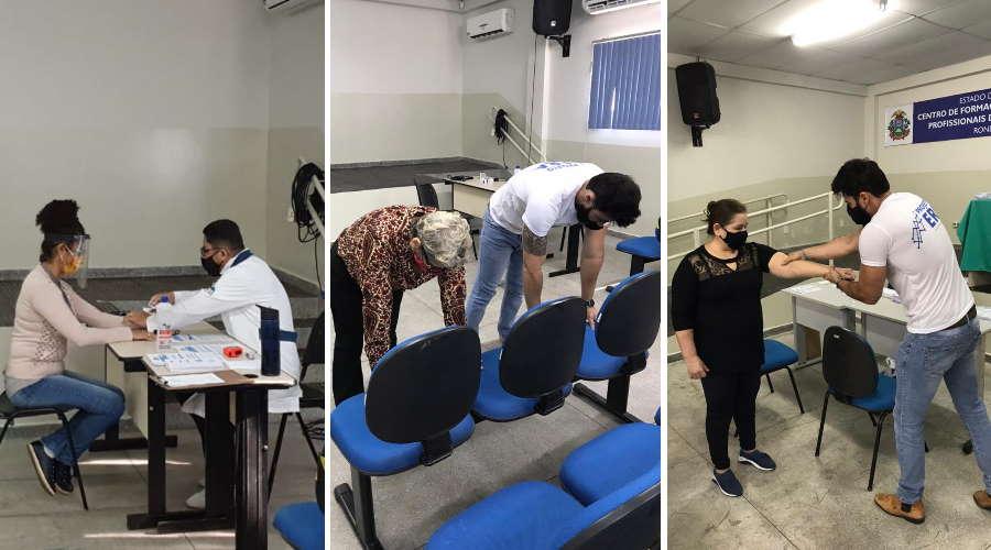 Imagem: atendmendo era Educadores recebem treinamento para volta às aulas com segurança