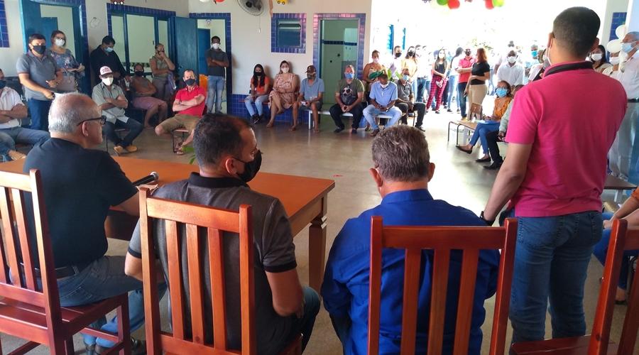 Imagem: boa vita PSF é inaugurado no Distrito de Boa Vista